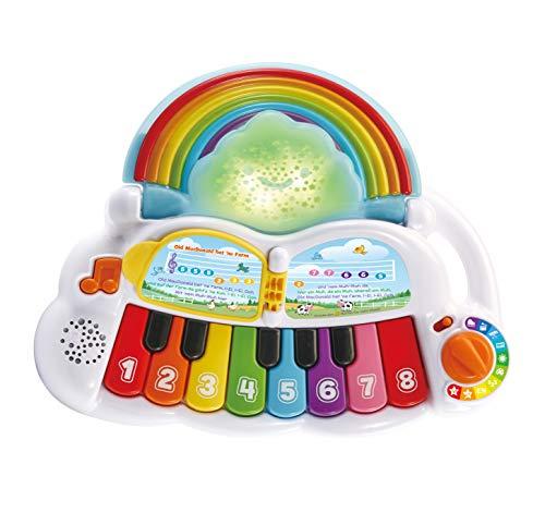 Vtech 80-612404 Babys Regenbogen-Keyboard