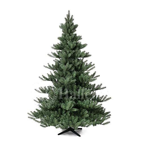 Original Hallerts® Spritzguss Weihnachtsbaum Alnwick 210 cm Nordmanntanne - zu 100% in Spritzguss...