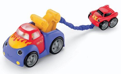 Mattel V6992 - Lustiges Fahrzeug Abschleppwagen