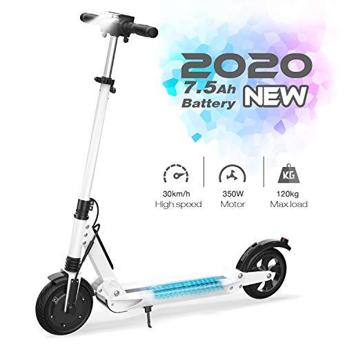 GeekMe Elektroroller E-Scooter Zusammenklappbarer Elektroroller Roller mit 3 Geschwindigkeitsmodi Bis zu...