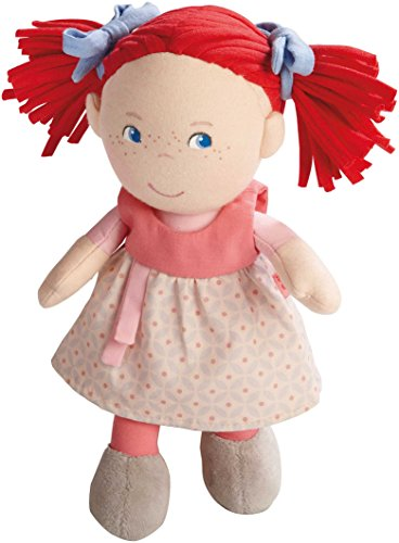 Haba 5737 - Puppe Mirli weiche Stoffpuppe, für Babys ab 6 Monaten zum Spielen, Kuscheln und Trösten,...