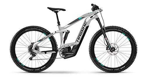 HAIBIKE SDURO FullSeven LT 7.0 Bosch Elektro Bike 2020 (M/44cm, Schwarz/Grau/Türkis)