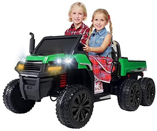 Actionbikes Motors Kinder Elektroauto A730 UTV - 4 x 35 Watt Motor - 2 Sitzer - Eva Vollgummireifen - 2,4...