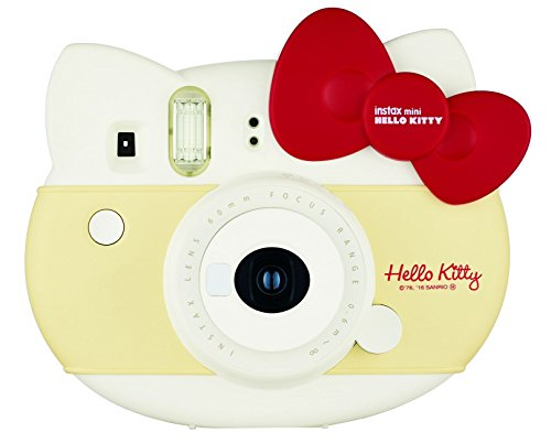 Fujifilm Instax Mini Hello Kitty Sofortkamera, 0,37 MP, Rot und Weiß