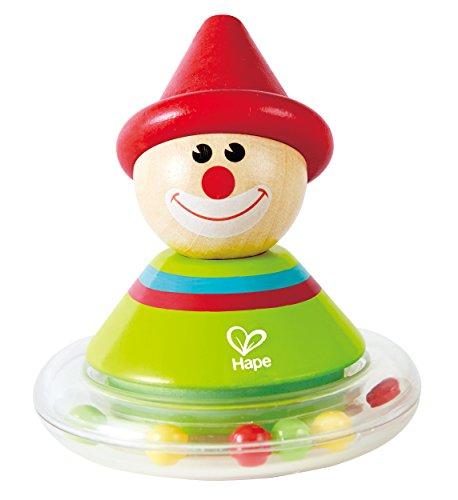 Hape E0015 Roly-Poly Toy (Multi-Colour) Wackel-Ralph-Stehaufmännchen