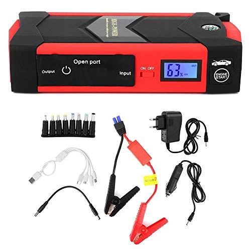 Starthilfegeräte Autostart 12V 20000Mah Multifunktions Digitalanzeige Smart Jump Starter...
