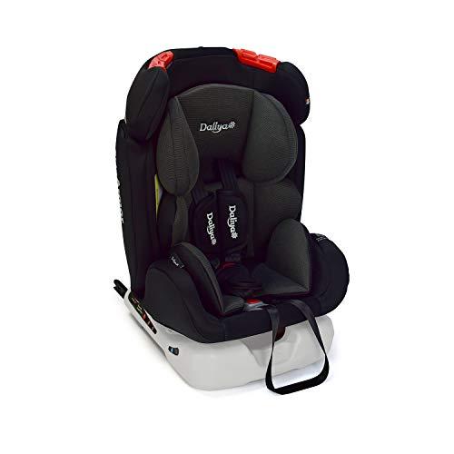 Daliya Sitorino 0-36 KG 0-12 Jahre Autositz Kindersitz Gruppe 0+1+2+3 Schwarz mit Isofix Fix und Top...