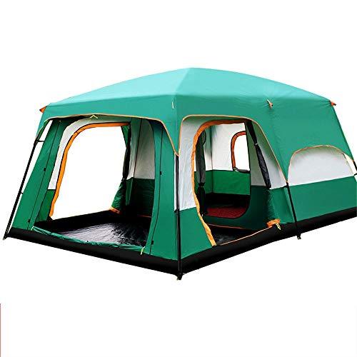 Zelten Family Camp Zelt Freien 6-10 Personen-Zelt einfach einzurichten bewegliches Sonnenschutz-Zelt...