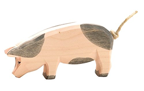 Ostheimer 10952 - Schwein, Kopf tief (gefleckt)