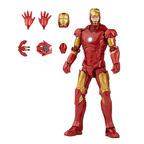 Marvel Hasbro Legends Series 15 cm große Iron Man Mark 3 Action-Figur, Charakter aus der Infinity Saga,...