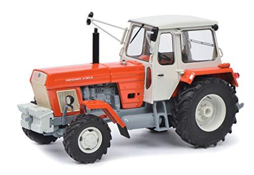Schuco 450775100 Fortschritt ZT 303, rot 1:32 450775100-Fortschritt, Modellauto, Modellfahrzeug