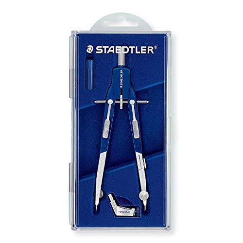STAEDTLER Mars Comfort 552 01 Zirkel, Schnellverstellzirkel, auswechselbare Nadel, Schenkel abknickbar,...