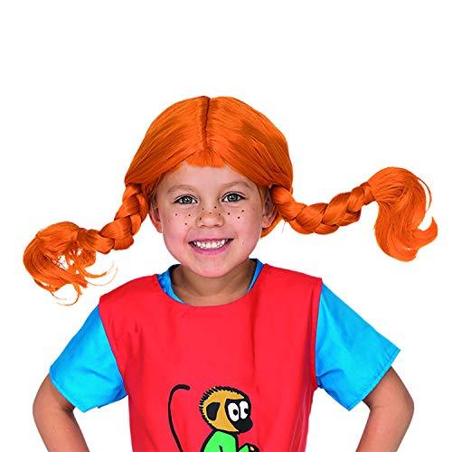 Micki & Friends 44360100 Pippi Langstrumpf Perücke - Kinder - bis zu 60 cm Kopfumfang - 3-6 Jahre -...