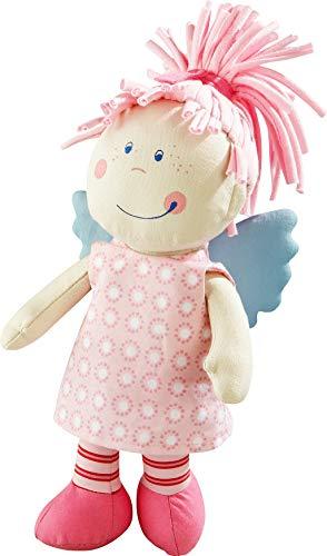 HABA 3951 - Schutzengel Tine, weiche Stoffpuppe für Kinder von 0-5 Jahren zum Spielen und Kuscheln,...