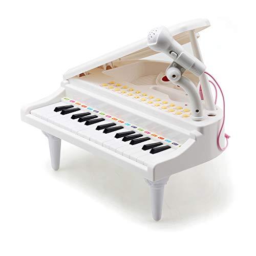 Amy&Benton Klavier Keyboard Spielzeug für Baby Kleinkind Kind ab 3 4 5 Jahre Mädchen Spielzeug Geschenk...