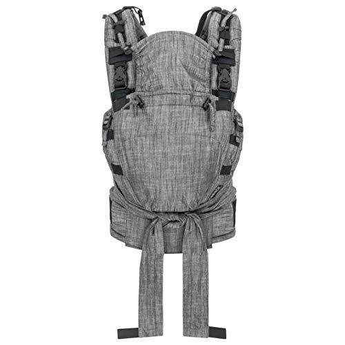 HOPPEDIZ® NABACA® Komfort-Modultrage, Basic-Set Denim schwarz
