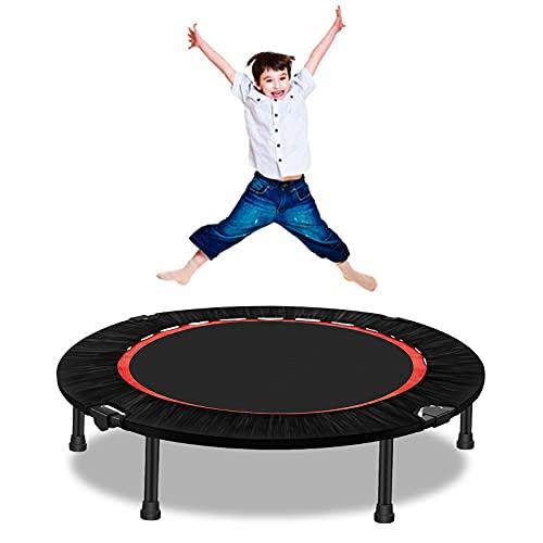 Fitness Trampolin Faltbares Ø ca 102 cm Jumping Trampolin mit Sicherheitspad Übungs-Rebounder,...