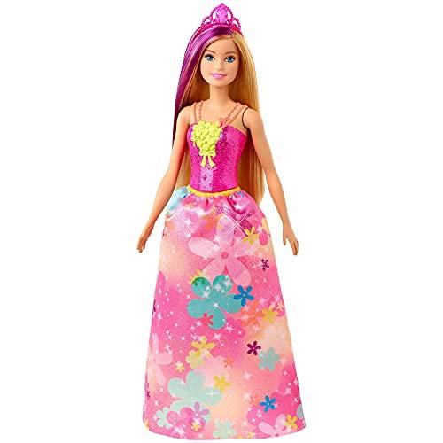 Barbie GJK13 - Dreamtopia Prinzessin Puppe (blond- und lilafarbenes Haar), Spielzeug ab 3 Jahren