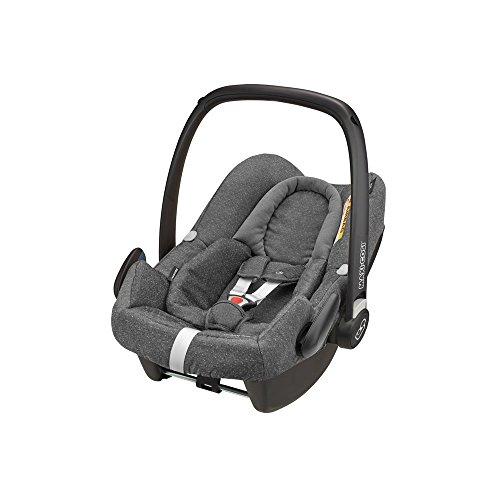 Maxi-Cosi Rock Babyschale, sicherer i-Size Kindersitz, Gruppe 0+ (0-13 kg), nutzbar ab der Geburt bis 12...