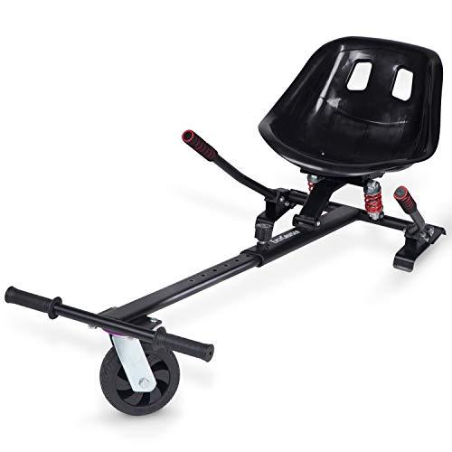Blaustein EasyCruiser PRO Hoverkart I Premium Hoverboard Sitz als Kart-Erweiterung für alle Hoverboards...