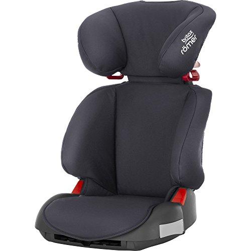 Britax Römer Kindersitz 3,5 - 12 Jahre I 15 - 36 kg I ADVENTURE Autositz Gruppe 2/3 I Storm Grey