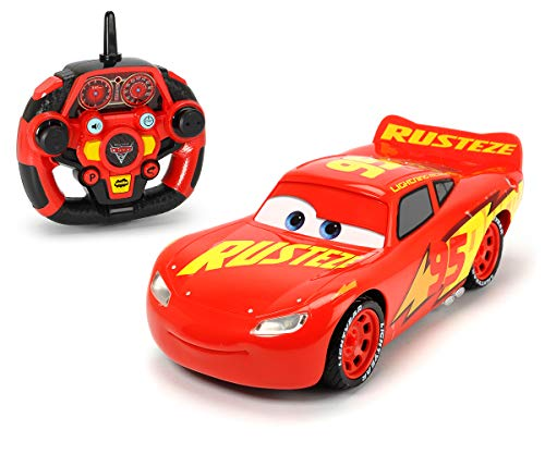 Dickie Toys RC Cars 3 Ultimate Lightning McQueen, RC Auto, ferngesteuertes Auto, mit 3-Kanal...