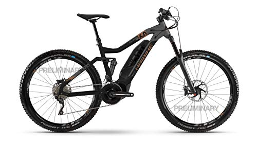 HAIBIKE SDURO FullSeven LT 6.0 Yamaha Elektro Bike 2020 (L/48cm, Schwarz/Grau/Bronze)