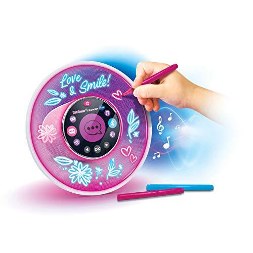 Vtech 80-531904 KidiSmart Glow Art Lautsprecher, Bluetooth Musikplayer, Wecker, mit Sprachsteuerung,...