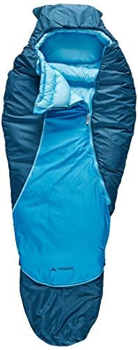VAUDE Kinder Schlafsack Alpli Adjust 400 SYN, längenverstellbarer Kinderschlafsack, geeignet für...