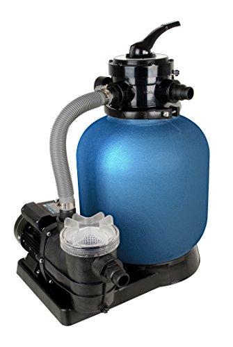 T.I.P. Schwimmbad Filter Set Sandfilteranlage SPF 370 F, bis 7.000 l/h