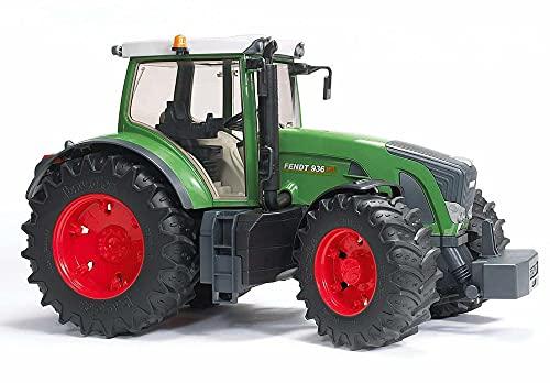 Bruder 03040 - Fendt 936 Vario, Traktor, abnehmbares Frontgewicht, Anhängekupplung, lenkbar mit...