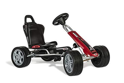 Ferbedo Go X-Racer (Gokart/Kart in rot-schwarz mit Kunststoffreifen, ab ca. 3-8 Jahre) 104000