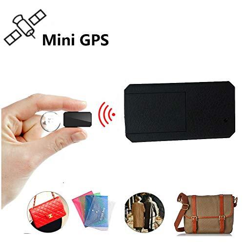 Winnes Mini GPS Tracker, Magnet Micro GPS Ortung Anti Theft Echtzeit GPS Locator für Handtasche...