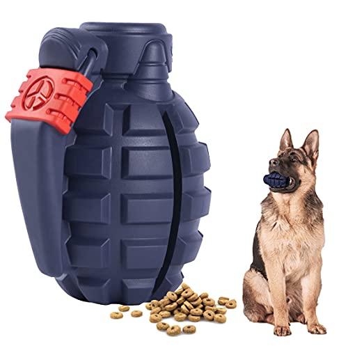 SUNNEKO Premium Hundespielzeug Unzerstörbar aus Naturkautschuk – sehr Robuster Kauspielzeug Hunde...