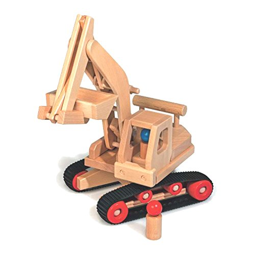 Fagus 10.71 Holz Spielzeugfahrzeug - Spielzeugfahrzeuge (Holz, Schwarz, Holz, Kinder, 170 mm, 460 mm, 410...