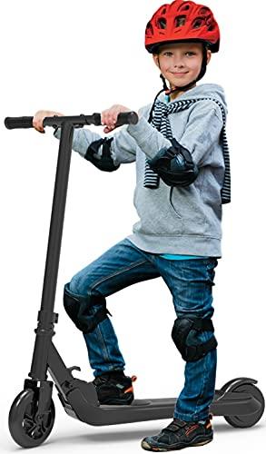 Riding' times Elektroroller für Kinder 4-10 Jahre, Klappbarer Roller Kickscooter Elektro Scooter, 120W...