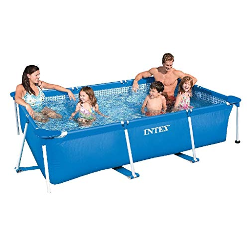 Intex Rectangular Frame Pool - Aufstellpool - 220 x 150 x 60 cm