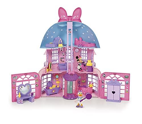 Minnie Maus 182592MI4 Disney Junior Minnie Happy Helpers Haus, Rose