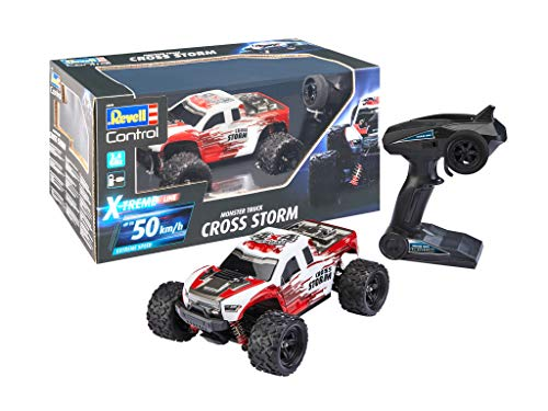 Revell Control 24830 X-Treme schneller RC Truggy Cross Storm, 2.4 GHz, proportional, 4WD Allrad,...