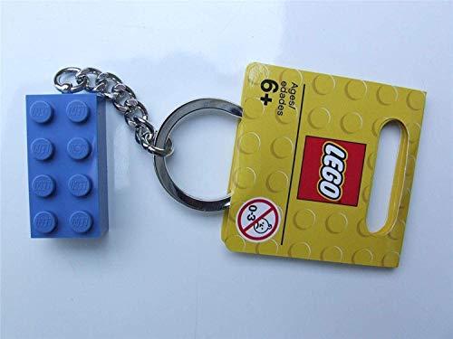 Lego Schlüsselanhänger blauer Stein