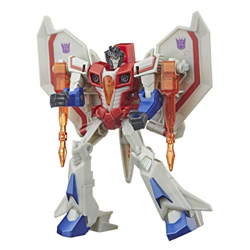Transformers Bumblebee Cyberverse Adventures Action Attackers Warrior-Klasse Starscream Action-Figur,...