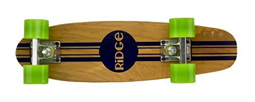 Ridge Retro Skateboard Mini Cruiser, grün, 22 Zoll, WPB-22