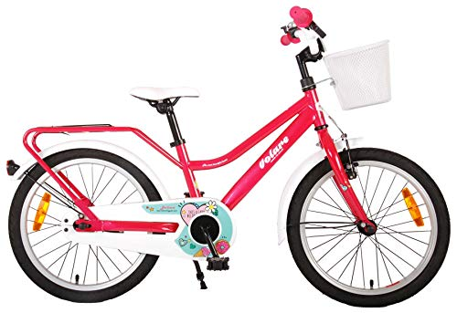 18 Zoll Kinder Mädchen Fahrrad Kinderfahrrad Mädchenfahrrad Kinderrad Mädchenrad Bike Rad Rücktritt...