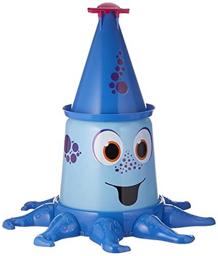 BIG-Aqua-Nauti, Wassersprinkler mit bis zu 4 Meter hohem Strahl, Gartensprinkler für Kinder in...