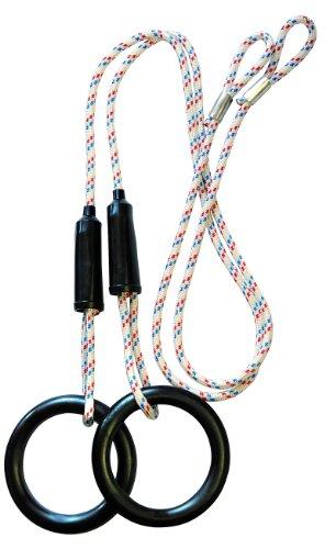 KletterDschungel Ringe - Turnringe für Kinder; zugelassen für 130 kg