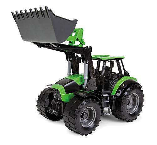 Lena 04603 - Worxx Traktor Modell Deutz-Fahr Agrotron 7250 TTV mit Frontlader, ca. 45 cm, Landwirtschaft...