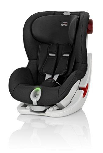 Britax Römer Kindersitz 9 Monate - 4 Jahre I 9 - 18 kg I KING II LS Autositz Gruppe 1 I Cosmos Black