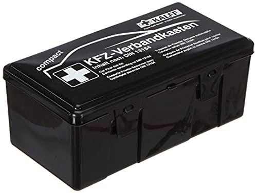 KALFF 23503 Auto Verbandskasten Kompakt Din 13164, Kfz Erste Hilfe Set, Box für Kofferraum, Notfall...