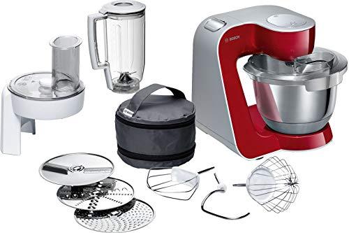 Bosch MUM5 CreationLine Küchenmaschine MUM58720, vielseitig einsetzbar, große Edelstahl-Schüssel...