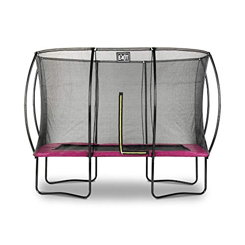EXIT Silhouette Trampolin 214x305cm - rosa